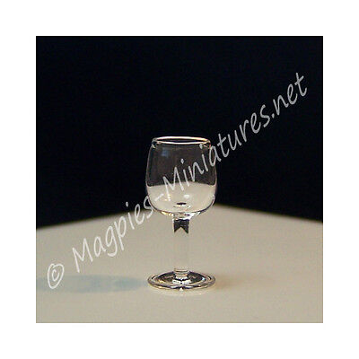 Doll House 12th Scale : Red Wine Glass FINE QUALITY