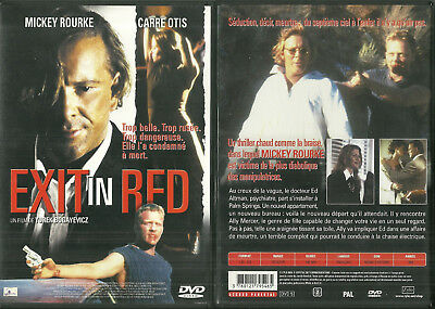 DVD - EXIT IN RED avec MICKEY ROURKE, CARRE OTIS / COMME NEUF