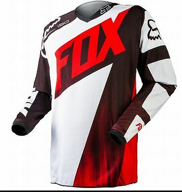 FOX MOTOCROSS JERSEY NEW Honda Red Sm Med Lg XL 2XL Motorcross Off road Dirtbike