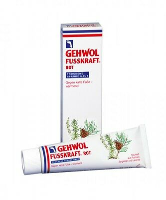 Gehwol Fusskraft rot 125 ml