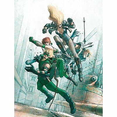 Green Arrow/Black Canary Five Stages Kreisberg Krull Norton Guede. 9781401228989