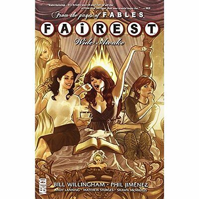 Fairest Volume 1 Willingham Graphic novels DC Comics Paperback / . 9781401235505