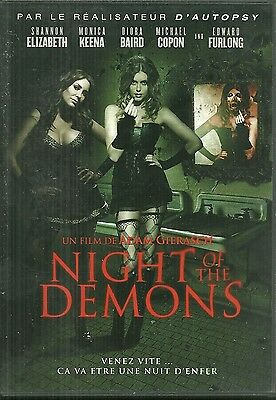 RARE / DVD - NIGHT OF THE DEMONS avec SHANNON ELIZABETH ( HORREUR ) / COMME NEUF