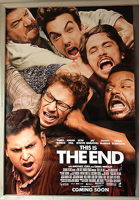 Cinema Poster: THIS IS THE END 2013 (Advance One Sheet) James Franco Seth Rogen