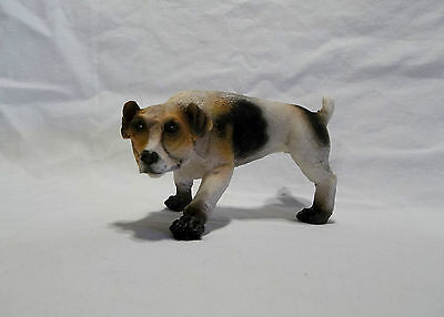 Peeing Jack Russell Dog Resin Made