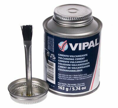 Vulcanizing Cement/Glue 225ml - For use with tyre repair patches