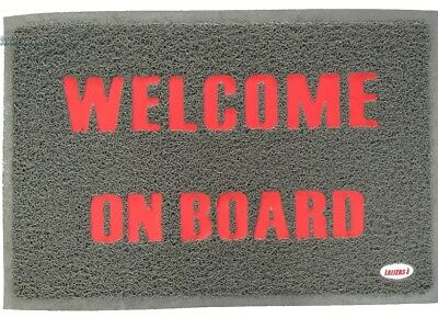 LARGE 900*600 Welcome Anti Slip DOOR MAT Caravan RV Boat Indoor Outdoor Entrance
