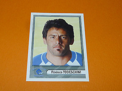 N°313 Todeschini Montpellier Herault Rc Panini Rugby 2007-2008 Top 14 France