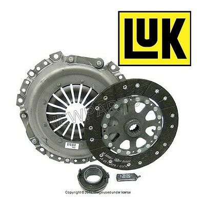 Mini Cooper R52 R53 S from 07/04 Clutch Kit 215mm Disc Plate Release Bearing LuK