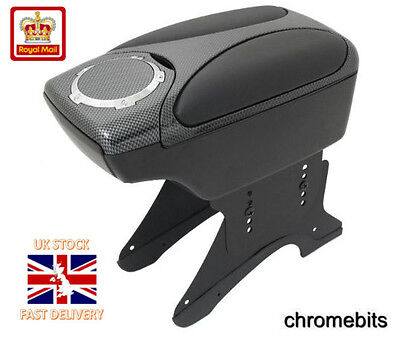 Carbon Armrest Arm Rest Console for VW Touran Bora Polo Golf