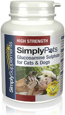 Simply Supplements Glucosamine for Cats & Dogs 500mg 360 Tablets (S120)