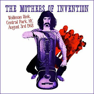 The Mothers Of Invention. Wollman Rink Central Park NY 3 Aug 68 New 2 x vinyl LP