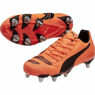 Puma evoPOWER 4.2 H8 SG Lava Rugby Boots Sizes:(UK 7 - 13) 103305-02