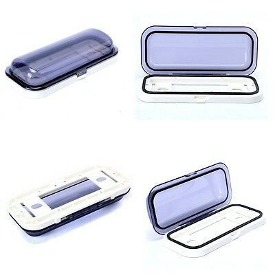 Excellent Car Radio Shield Waterproof Cover Stereo Radio Cover Housing - White
