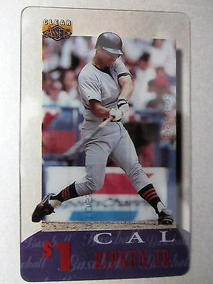1$ Telefonkarte Phonecard USA Major League Baseball Spieler Player CAL RIPKEN JR