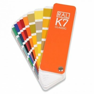 RAL K7 Classic guide - Shows all the RAL Classic colours. The latest version