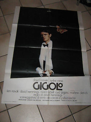 Gigolo',david Bowie,poster,rome,hemmings