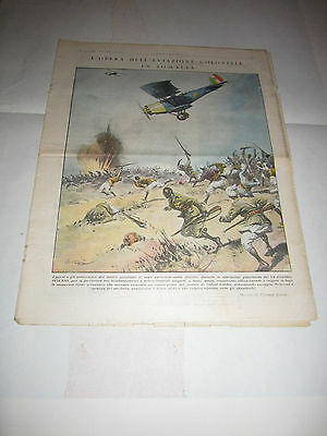 Tribuna Illustrata 1935 Aviazione Coloniale In Somalia V. Pisani Fascismo