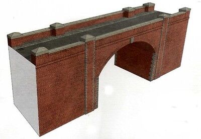 Superquick OO Gauge Red Brick Bridge/Tunnel Entrance Card Kit A14