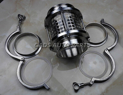 """4""""/102mm Triclamp Sanitary Sight Glass with Clamp Set, steel cover,SS304"""