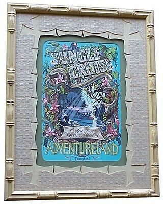 "Disneyland's, ""jungle Cruise"" Frame Tiki Bamboo"