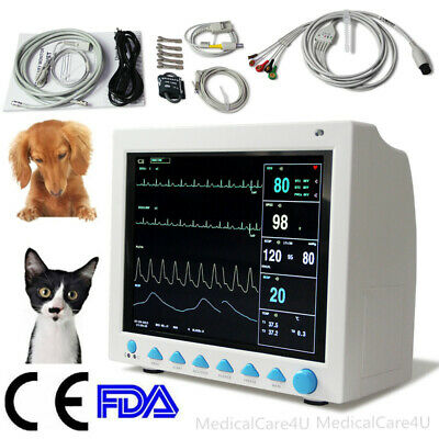 Veterinary ICU vital Signs Patient monitor,6 parameters,CONTEC CMS8000VET,CE&FDA