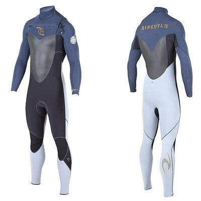2015/16 Rip Curl Flash Bomb Chest Zip Mens Wetsuit 5 x 3 MM Slate