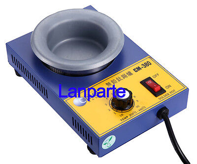 CM-380 Lead-free Titanium Alloy Tin Melting Furnace Φ80mm Solder Pot 220V