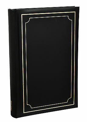 Arpan Black Soft Padded Cover Slip In Case Memo 300 6 x 4 Photo Album - AL-9170