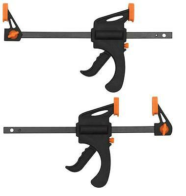 Quick Grip Bar Clamps 10.2cm 100mm Two Pack Craft Warhammer Scenery & Terrain