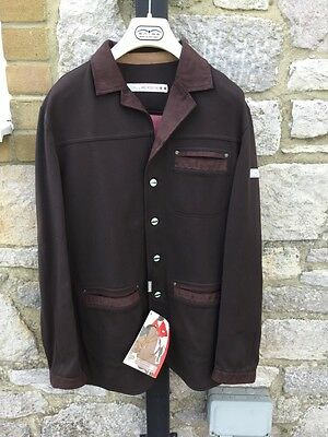 Animo Men's Show Competition Jacket Brown I-50 UK 40