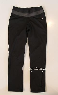 27d90fc7 NIKE Pro Dri Fit Fitted Black Compression Athletic pants Girls Size XL 13 15