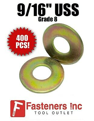 """5//16/"""" Extra Thick Flat Washers USS Grade 8 Hardened Washer MCX MilCarb Qty 250"""