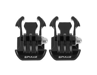 2 x Quick Release Buckle Clip Basic Strap Mount GoPro HERO4 /3+ /3/2/1 SJ Camera