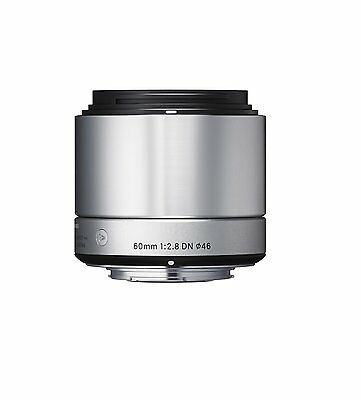 New Sigma 60 mm F2.8 Art DN for Sony E-Mount Lens Silver Japan
