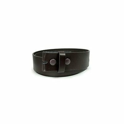 Loopty Loo Brown Smooth Leather Belt Size M Brand New