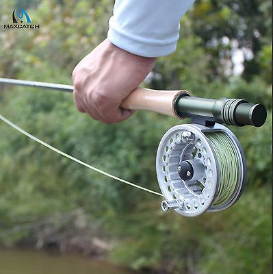 9FT Fly Fishing Rod And Fly Reel Combo 5/6/7/8WT Medium Fast IM6 Graphite Carbon