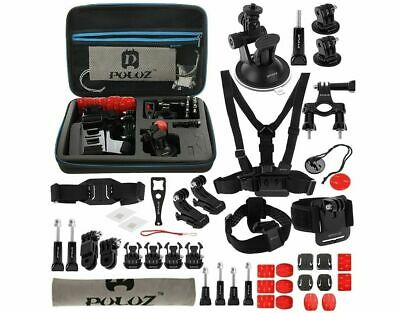 Accessories Set for GoPro Kit Pole Head Chest Mount Giant Camera Combi Pack