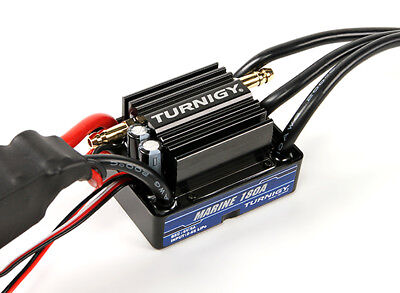 RC Turnigy Marine 180A BEC Waterproof Speed Controller with Water Cooling