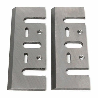 POWERTEC 128341 3-1/4-Inch Planer Blades for Makita N1900B, HSS, Set of 2.