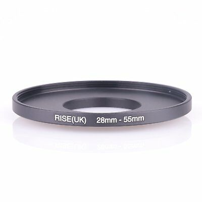 RISE(UK) 28mm-55mm 26mm to 55mm  28 - 55  Step Up Ring Filter Adapter black