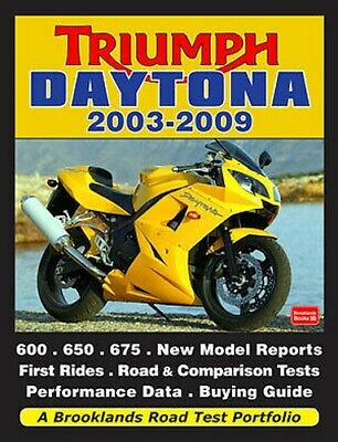Triumph Daytona 600 650 675 03-09 Buyer's Guide Reviews Road Tests TD3BRP