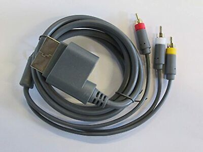 RCA Composite AV Cable For Microsoft By Mars Devices A/V For Xbox 360 4Z