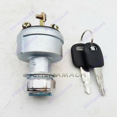 New 4 wire ignition switch 9G7641 for CATERPILLAR Excavator CAT E320C E330C
