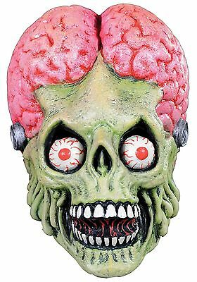 Official! Mars Attacks Drone Martian Full Head  Latex Mask by Trick or Treat
