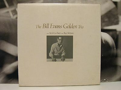 Bill Evans - The Bill Evans Golden Trio Box 4 Lp Limited Numbered Edition N. 703