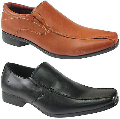 New Mens Smart Office Wedding Slip On Shoes Italian Dress Work Casual Party Size