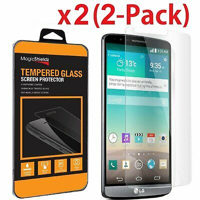 2-PACK Ultra-Thin Premium Tempered Glass Screen Protector for LG G3