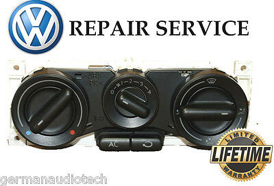 Volkswagen Vw New Beetle Climate Control A/c Heat 1998-2010 - Repair Service Fix
