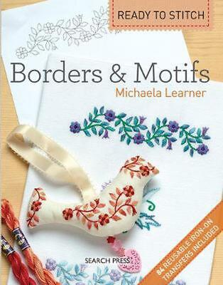 Ready to Stitch: Borders & Motifs by Michaela Learner (English) Paperback Book F